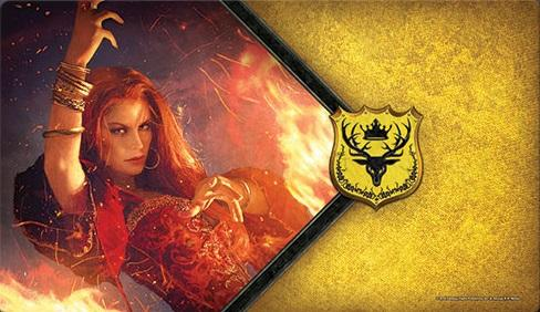 A Game of Thrones LCG: The Red Woman Playmat