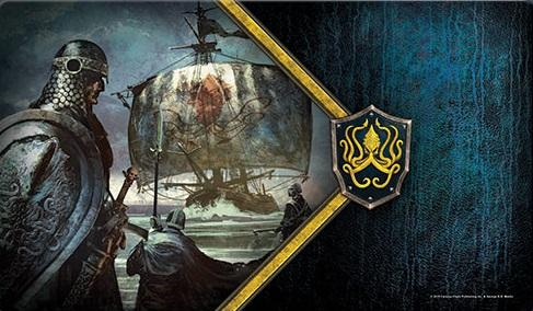 A Game of Thrones LCG: Ironborn Reavers Playmat