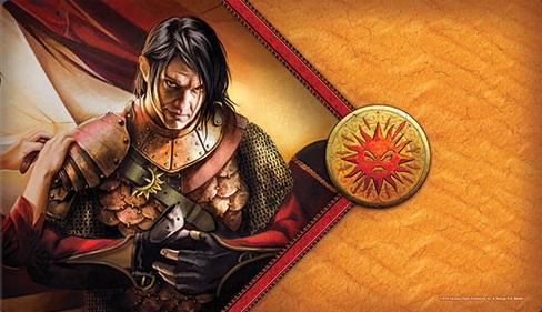 A Game of Thrones LCG: The Red Viper Playmat
