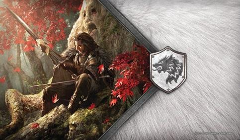 A Game of Thrones LCG: The Warden of the North Playmat