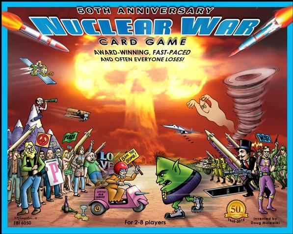 Nuclear War 50th Anniversary Edition (Card Game)
