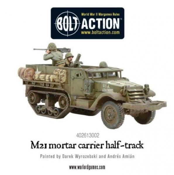 (USA) M21 Mortar Carrier Half-Track