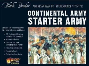 Black Powder:  American War of Independence Continental Army Starter