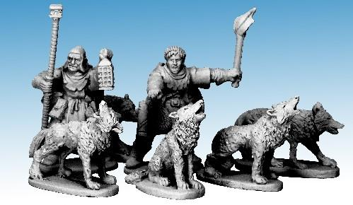 Frostgrave: (Beastiary) Wolves