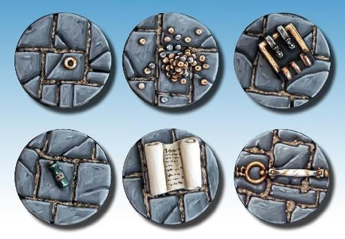 Frostgrave: Resin Treasure Tokens