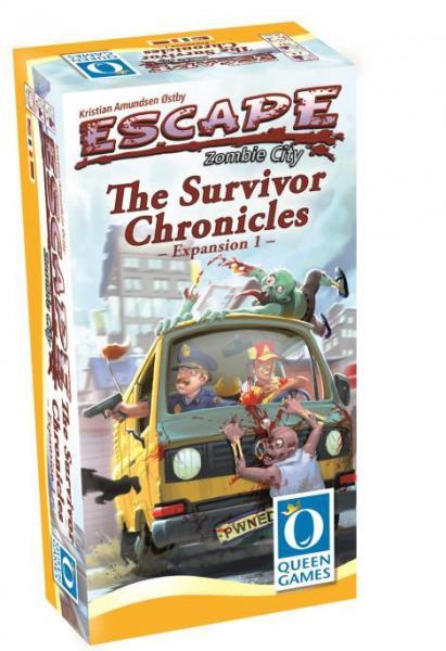 Escape: Zombie City - The Survivior Chronicles (Expansion 1)
