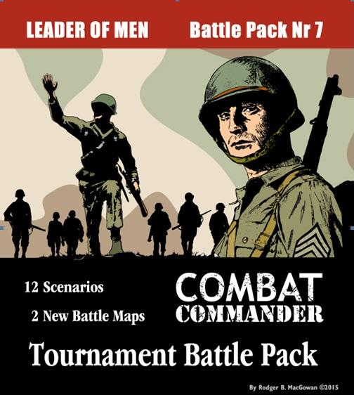 GMT Games: Combat Commander Tournament battle Pack #7 - Leader of Men