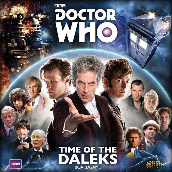 Dr Who: Time Of The Daleks Board Game