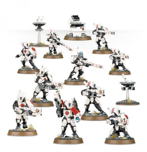 WH40K: Fire Warriors Strike Team