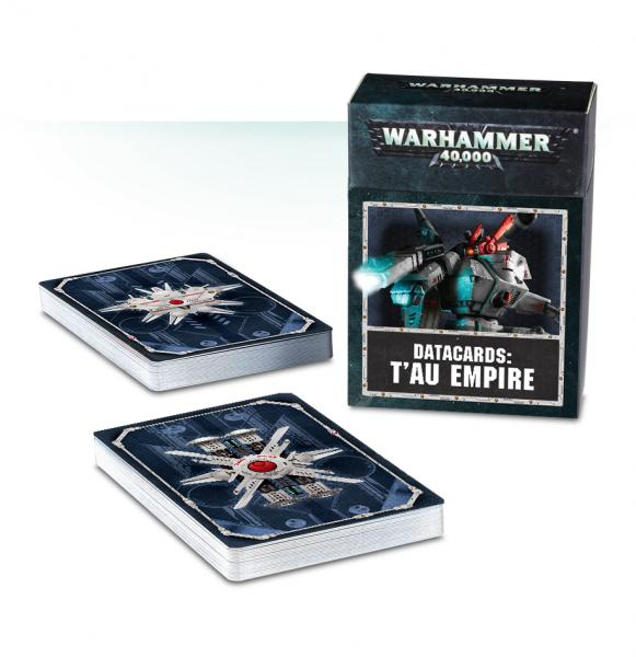 Warhammer 40K: Tau Empire Data Cards