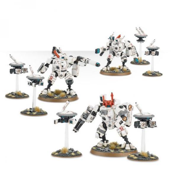 WH40K: XV8 Crisis Battlesuit Team