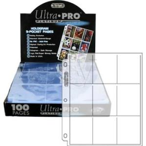 9-Pocket Top-Loading Sheet Card Protectors Box (100 Page)