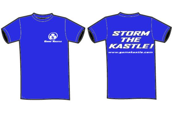 Game Kastle Shirts: Extra Large Royal Blue (2016)