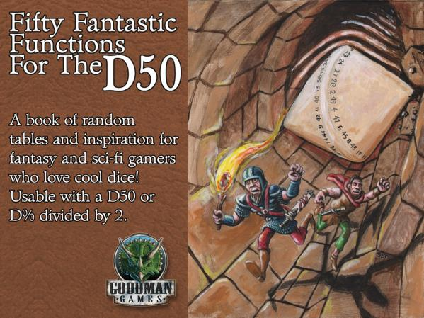 Fifty Fantastic Functions For The D50 (System Neutral Sourcebook)