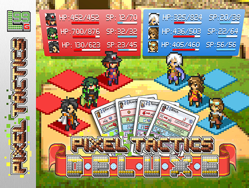 Pixel Tactics Deluxe (Boxed Pixel Tactics Exp. & Storage)