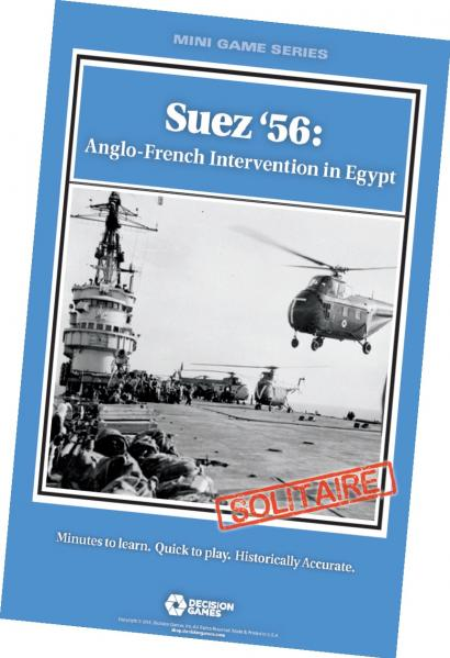 Mini Game Series: Suez '56 Anglo-French Intervention