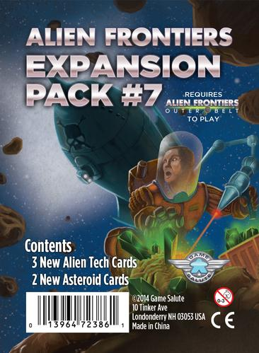 Alien Frontiers: Booster Pack 7