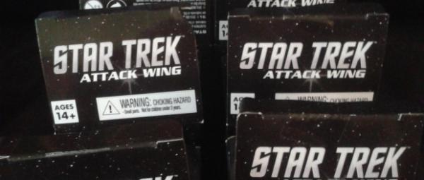 Star Trek Attack Wing: 2015-2016 Organized Play Reinforcement Booster Pack