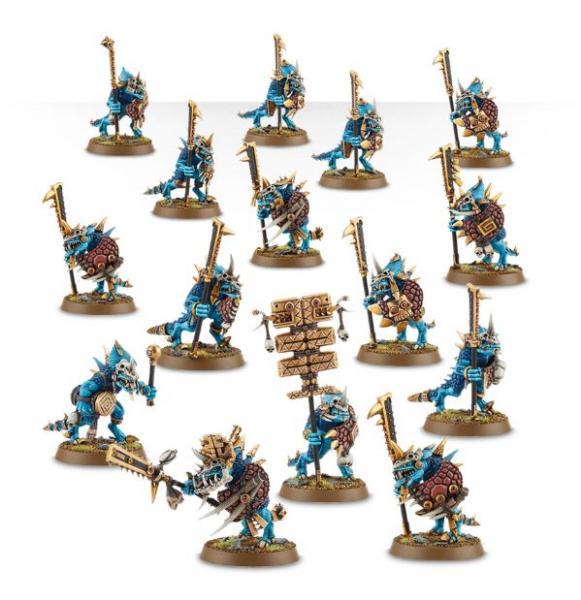 Age of Sigmar: Seraphon Saurus Guard