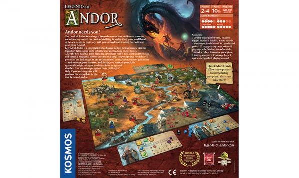 Legends of Andor: Core Game