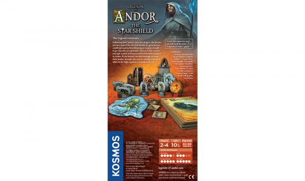Legends of Andor: The Star Shield Expansion