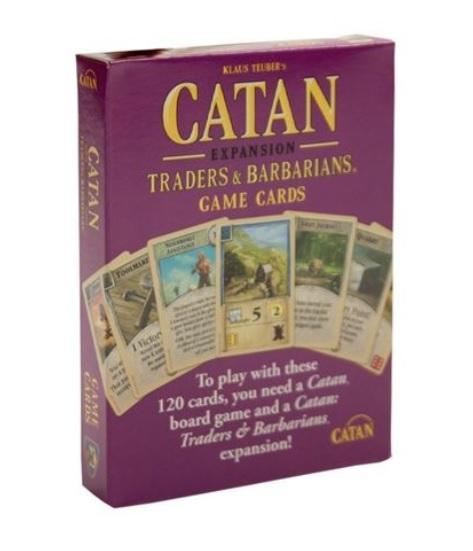Catan: Traders and Barbarians Replacement Game Cards