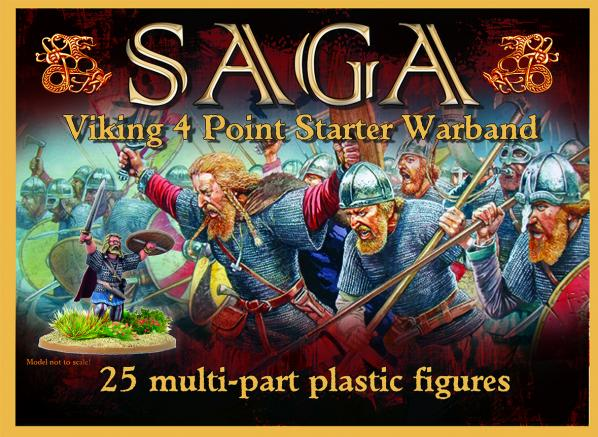 SAGA: Viking Age - Viking Starter (4 points) (plastic)