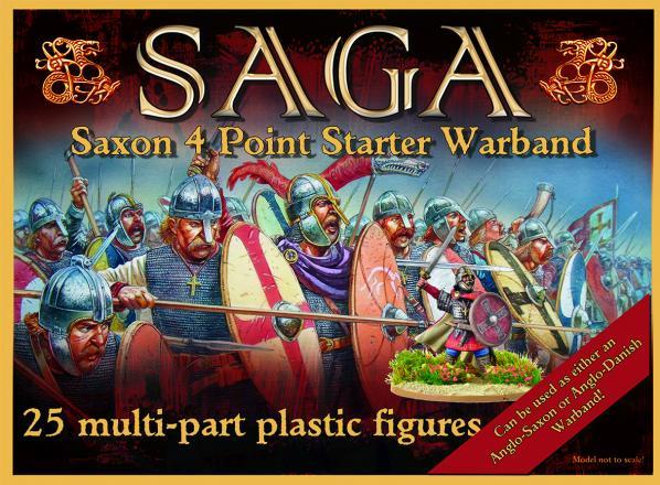 SAGA: Viking Age - Anglo-Saxon Starter (4 points) (plastic)