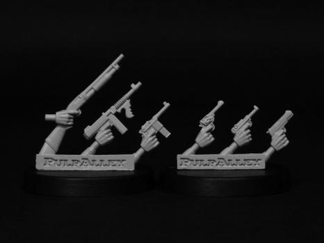 Pulp Alley Miniature Game: Pulp Alley Weapons Pack #1