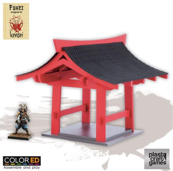 28mm Kensei Terrain: Pergola (Color ED)