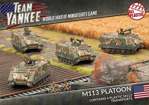 Flames Of War (Team Yankee): (USA) M113 Platoon (Plastic)