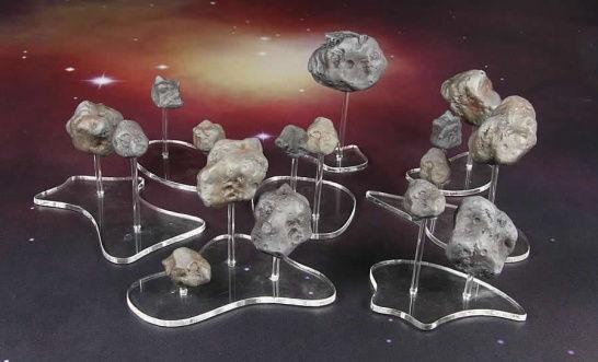 Spartan Scenics: Asteroid Set