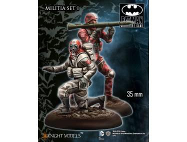 Batman Miniature Game: Militia Set I