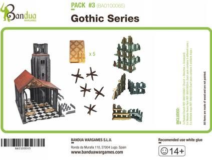 Miniature Terrain: Gothic Series Pack