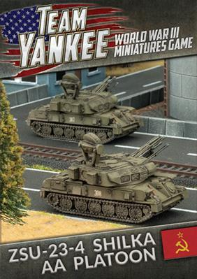 Flames Of War (Team Yankee): (Soviet) ZSU-23-4 Shilka AA Platoon