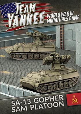 Flames Of War (Team Yankee): (Soviet) SA-13 Gopher SAM Platoon