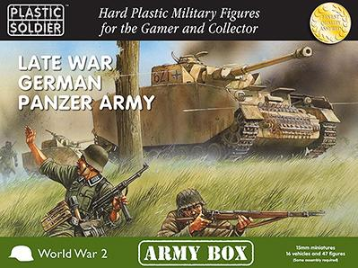 15mm WWII: (German) Late War Panzer Army