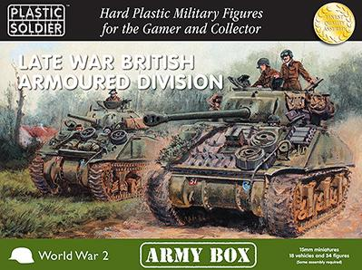 15mm WWII: (British) Late War Armoured Division