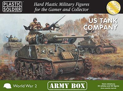 15mm WWII: (US) Tank Company Army 1944