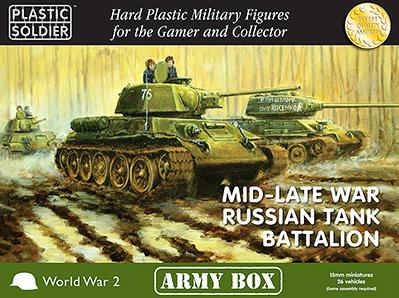 15mm WWII: (Soviet) Mid/Late War Russian Tank Battalion