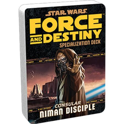 Force & Destiny RPG: Niman Disciple Specialization Deck