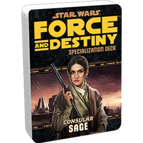 Force & Destiny RPG: Sage Specialization Deck
