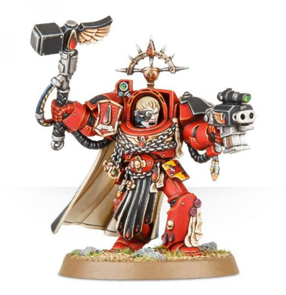 Warhammer 40K: BLOOD ANGELS CAPTAIN TERMINATOR ARMOUR
