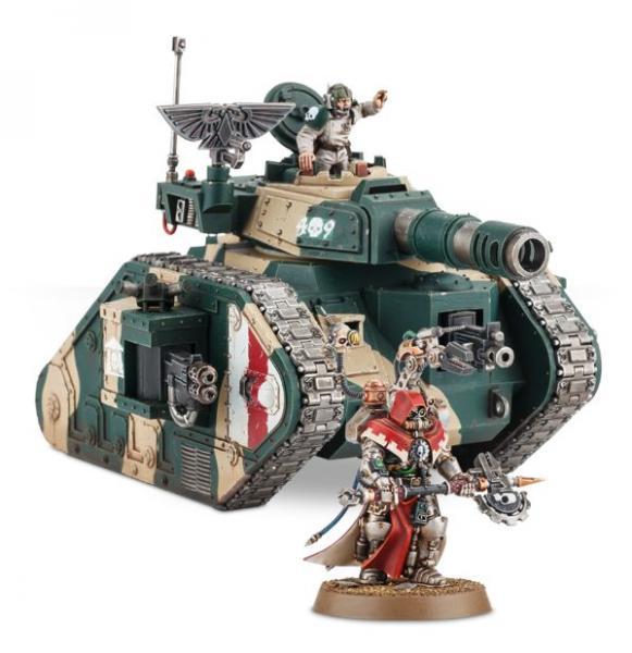 Warhammer 40K: ASTRA MILITARUM LEMAN RUSS TECH-COMMAND