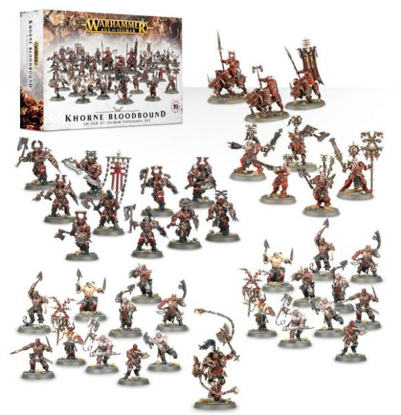 Age of Sigmar: Khorne Bloodbound Expansion Set