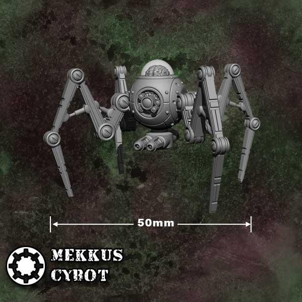 Counterblast: Mekkus Cybot