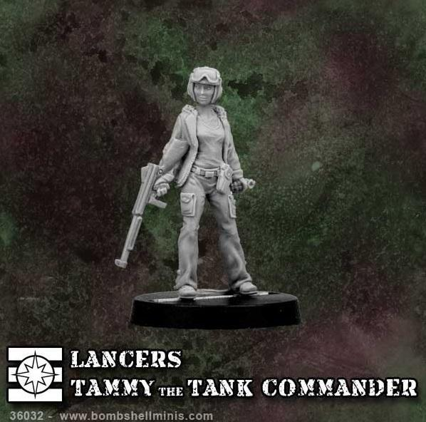 (Lancers) Tammy The Tank Commander