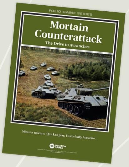 Folio Game Series: Mortain Counterattack - The Drive To Avranches