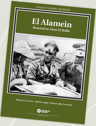 Folio Game Series: El Alamein: Rommel At Alam El Halfa