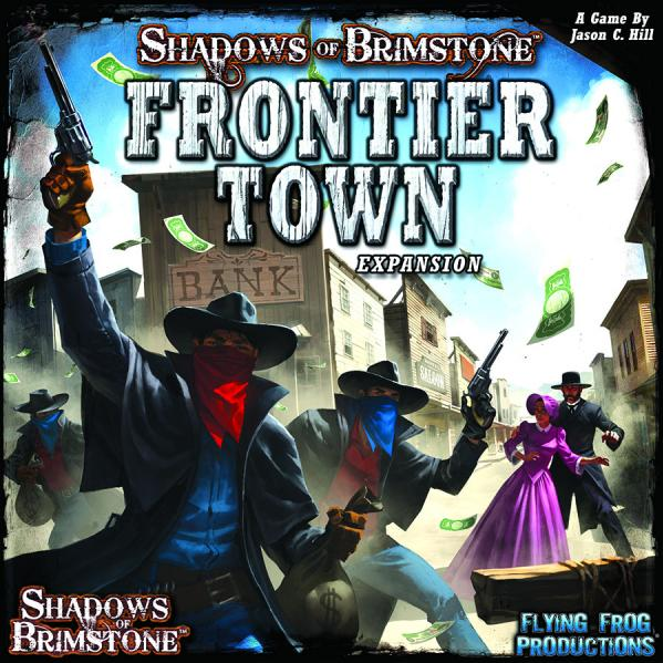 Shadows Of Brimstone: Frontier Town (Expansion)